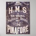 """H.M.S. Delantal, teatro retro de la """"ópera náutica Impresiones"""