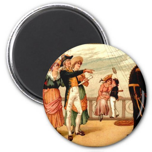 H.M.S. Pinafore 2 Inch Round Magnet