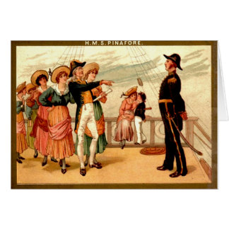 H.M.S. Pinafore Greeting Cards