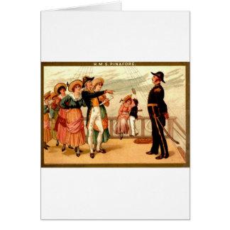 H.M.S. Pinafore Greeting Card