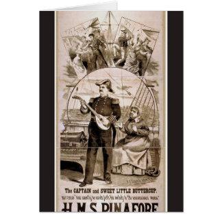 H.M.S. Pinafore Card