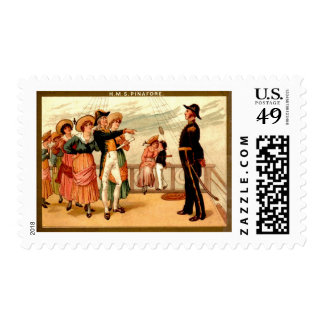 H.M.S. Pinafore Stamps