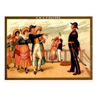 H.M.S. Pinafore Postcard