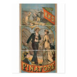 H.M.S. Pinafore Vintage Theater Post Card