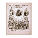 H.M.S. Pinafore Vintage Theater Postcard