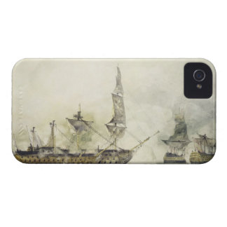 H.M.S. Victory at the Battle of Trafalgar, 1805, ( iPhone 4 Case-Mate Cases