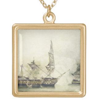 H.M.S. Victory at the Battle of Trafalgar, 1805, ( Custom Jewelry