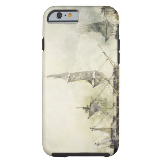 H.M.S. Victory at the Battle of Trafalgar, 1805, ( Tough iPhone 6 Case