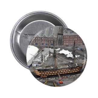 H.M.S. Victory Pinback Button