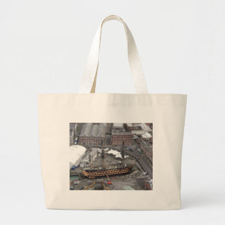 H M S Victory Tote Bags