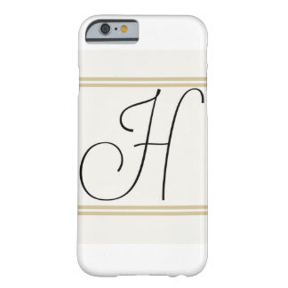 H Monogram Iphone case! Barely There iPhone 6 Case