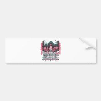 h.o.d. crest bumper sticker