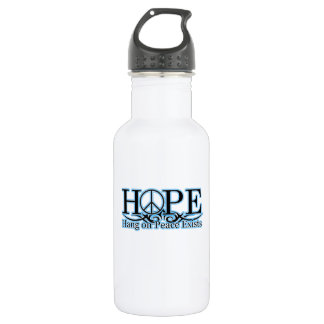 H.O.P.E - Hang On Peace Exists Water Bottle