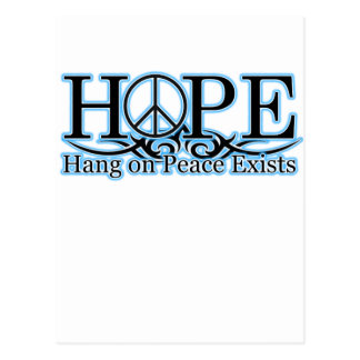 H O P E - La caída en paz existe Postales