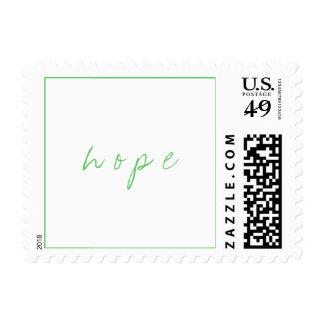 h o p e stamp