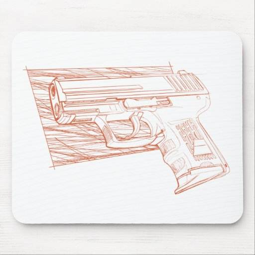 H P2k sk Mouse Pads