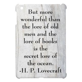 H.P. Cita y Driftwood del océano de Lovecraft