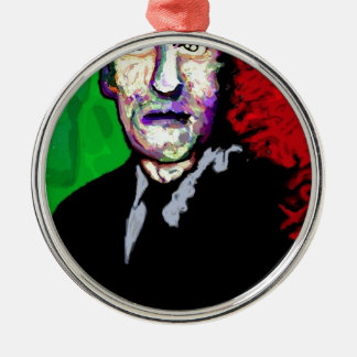 H.P.Lovecraft 1939 Adorno Navideño Redondo De Metal
