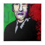 H.P.Lovecraft 1939 Azulejo Cuadrado Pequeño