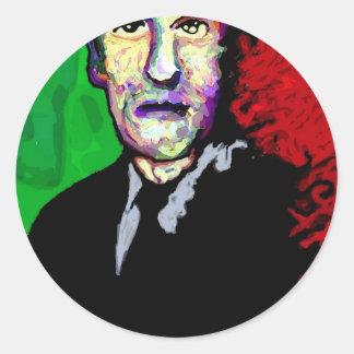 H.P.Lovecraft 1939 Classic Round Sticker
