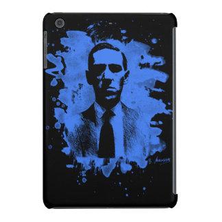 H.P. Lovecraft of tributes (blue) iPad Mini Retina Cover
