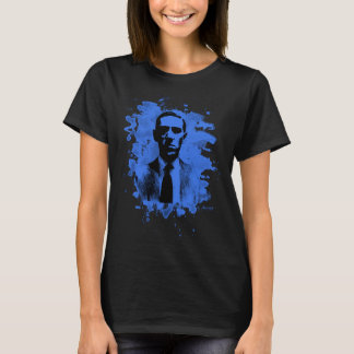 H.P. Lovecraft of tributes (blue) T-Shirt
