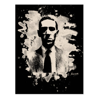 H.P. Lovecraft of tributes Postcard