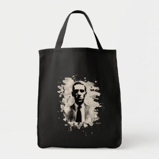H.P. Lovecraft of tributes Tote Bag