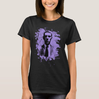 H.P. Lovecraft of tributes (violet) T-Shirt