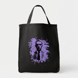 H.P. Lovecraft of tributes (violet) Tote Bag