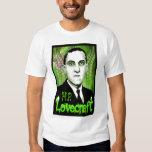 H.P. Lovecraft portrait (green) Shirt