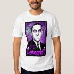 H.P. Lovecraft portrait (purple) T Shirt