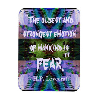 H.P. Lovecraft Quote Magnet