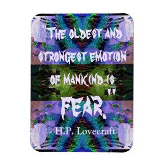 H.P. Lovecraft Quote Magnet
