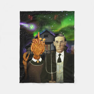 H.P. Lovecraft y manta gótica MI-Ir Lovecraftian Manta De Forro Polar