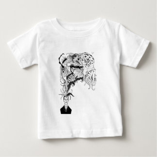 H.P. Lovecraft's monsters Baby T-Shirt