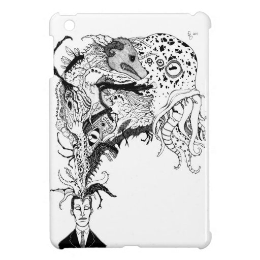 H.P. Lovecraft's monsters Covers For iPad Mini