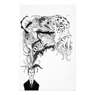 H.P. Lovecraft's monsters Stationery