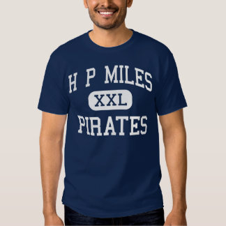 H P Miles Pirates Middle School Waco Texas Tee Shirt