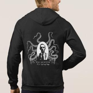 H.P. Sudadera con capucha de los tentáculos de Lov