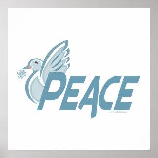 H - Paloma de la paz Posters