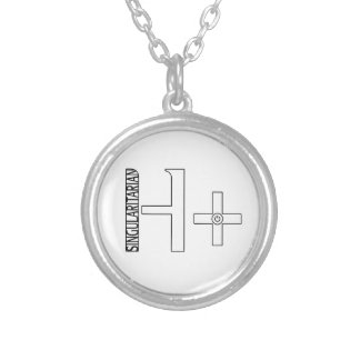 H Plus Silver Plated Necklace