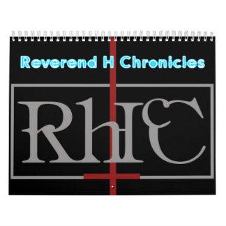 H reverendo Chronicles Calendar Calendarios De Pared
