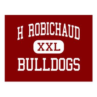 H Robichaud - Bulldogs - High - Dearborn Heights Postcard