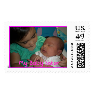 h&s stamp, My Baby Sister Postage