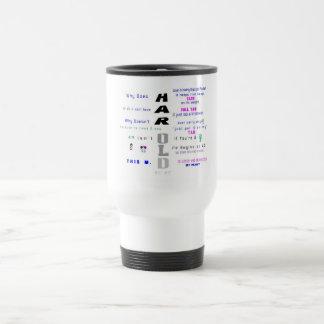 h - sorbo grande taza de viaje
