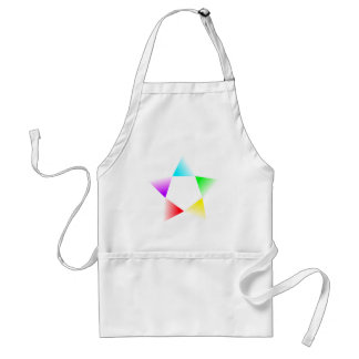 H-Star Multicolour Rotating Adult Apron