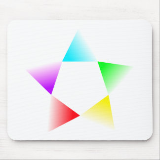 H-Star Multicolour Rotating Mouse Pad