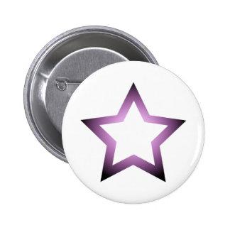 H-Star Purple Pinback Button