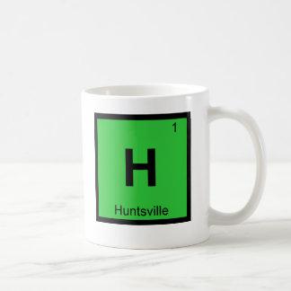 H - Tabla periódica de la química de la ciudad de Taza De Café